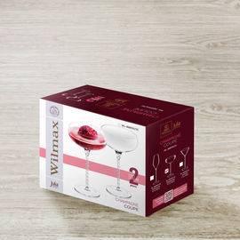 Champagne Glass Set of 2 in Colour Box WL‑888105/2С, 2 image