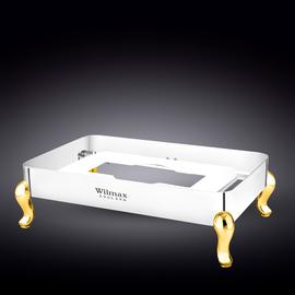 Подставка для мармита прямоугольная 63x42,5x17 см WL‑559949/A