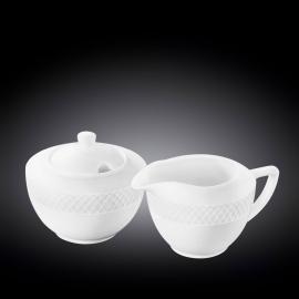 Sugar Bowl & Creamer Set WL‑880112‑JV/2C