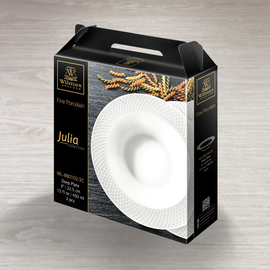 Deep Plate Set of 2 in Gift Box WL‑880102/2C, 2 image