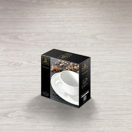 Coffee Cup & Saucer in Colour Box WL‑993002/1C, 2 image
