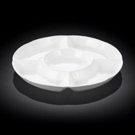 Divided Round Dish WL‑992019/A