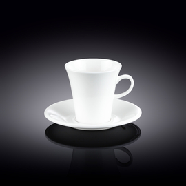 Coffee Cup & Saucer Set of 4 in Colour Box WL‑993005/4C
