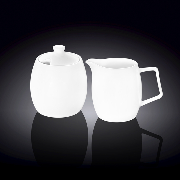 Sugar Bowl & Creamer Set in Colour Box WL‑995049/2C
