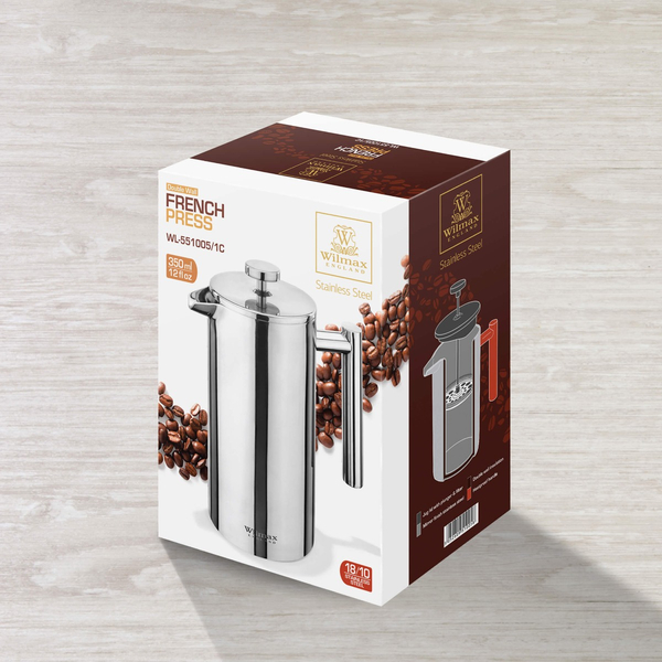Double Wall French Press in Colour Box WL‑551005/1C, 2 image