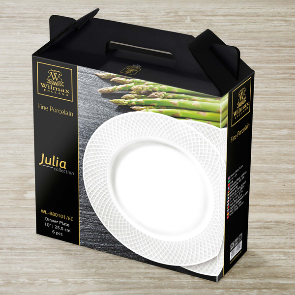 Dinner Plate Set of 6 in Gift Box WL‑880101/6C, 2 image