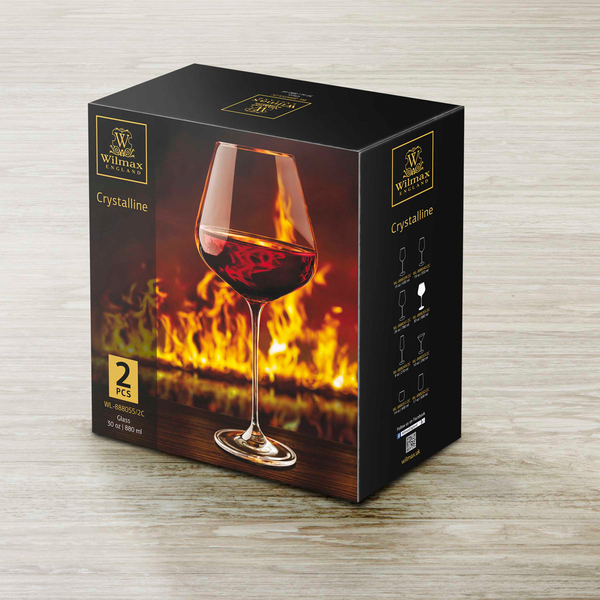 Chardonnay Glass Set of 2 in Colour Box WL‑888055/2C, 2 image