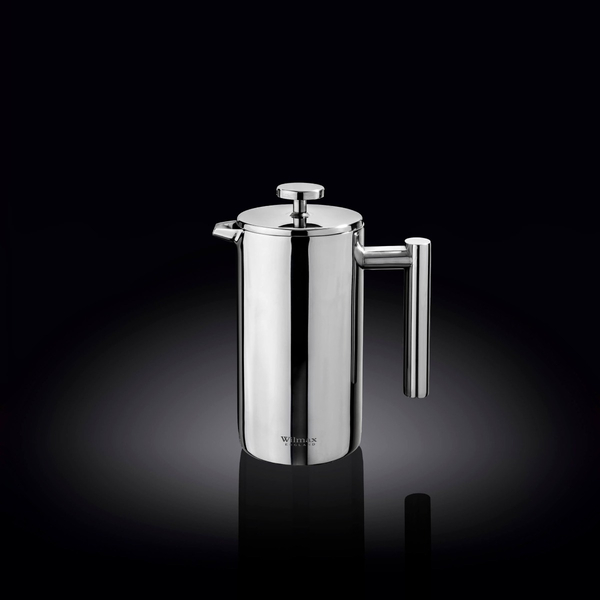 Double Wall French Press in Colour Box WL‑551005/1C