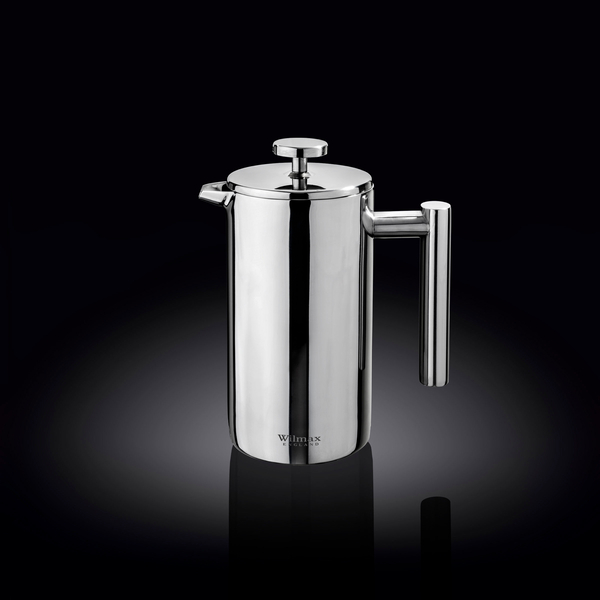 Double Wall French Press in Colour Box WL‑551006/1C
