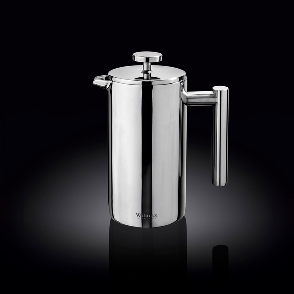Double Wall French Press in Colour Box WL‑551007/1C