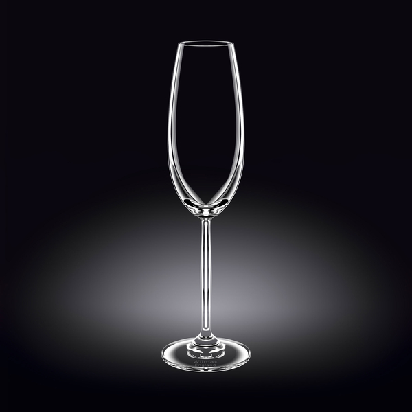 Champagne Flute Set of 2 in Colour Box WL‑888005/2C