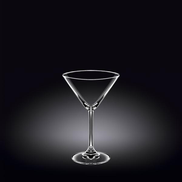 Martini Glass Set of 6 in Plain Box WL‑888030/6A