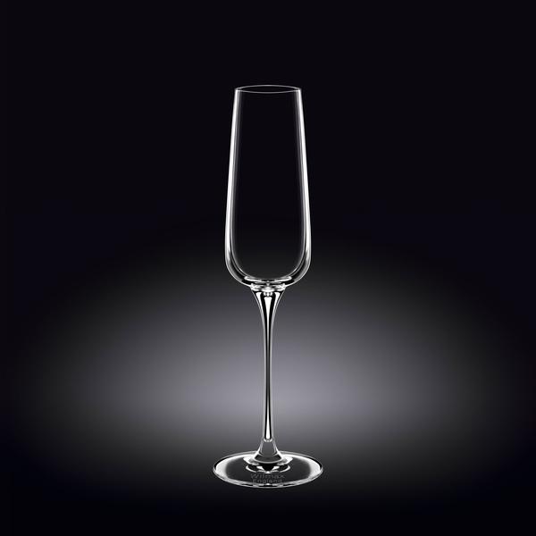 Champagne Flute Set of 2 in Colour Box WL‑888049/2C