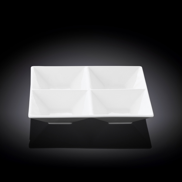 Divided Square Dish WL‑992017/A