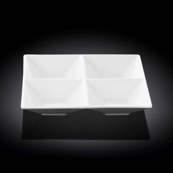 Менажница квадратная 20x20 см WL‑992018/A