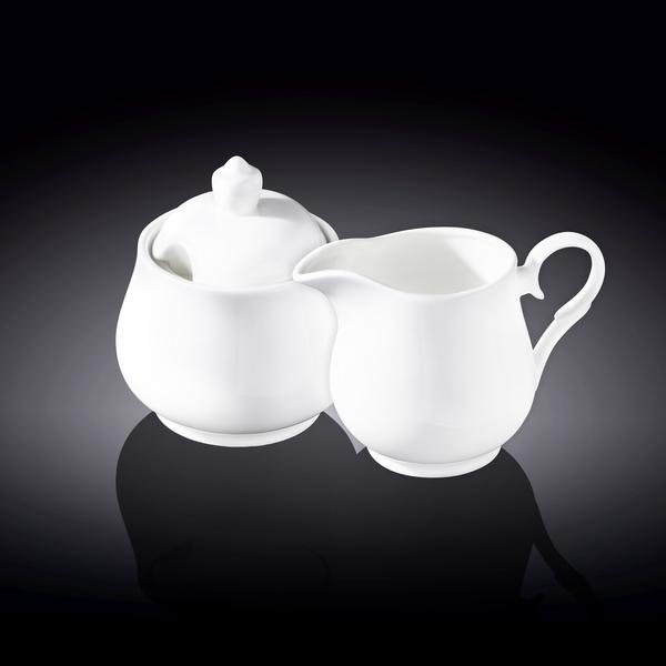 Sugar Bowl & Creamer Set in Colour Box WL‑995024/2C